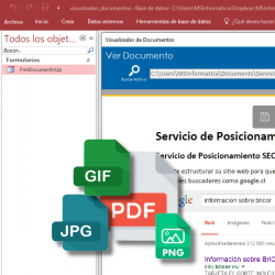 Visualizador de Documentos en Access